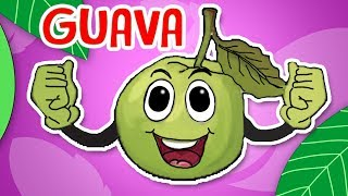 Guava Fruit Rhymes | English Rhymes | Popular Rhymes For Children | Guava Fruit Poems |