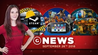 """Ex-Sony CEO Says PS Vita """"Came Too Late"""" & Steam Overhaul?! - GS Daily News"""