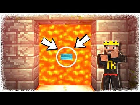 GİZLİ BUTON BULDUM # Minecraft Bulmaca