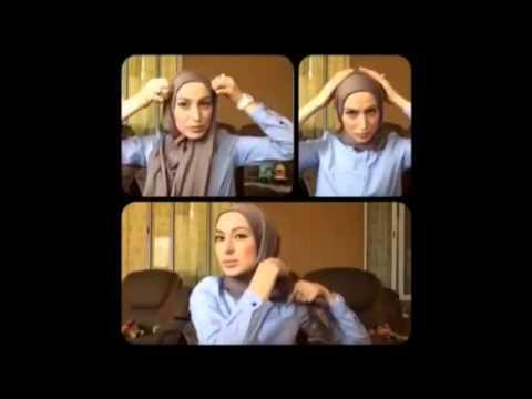 Tutorial Hijab Cantik Dan Simpel Ala Wanita Muslimah Eropa Timur video