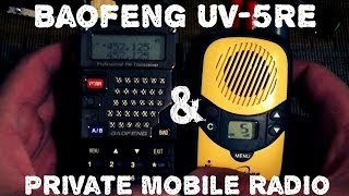 Baofeng UV-5RE настройка на PMR (8 каналов)