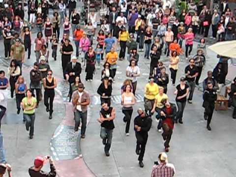Flashmob in Hollywood