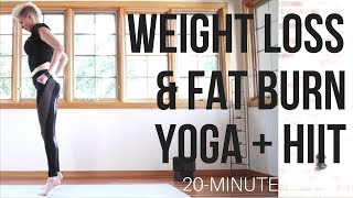 Yoga Shred™ (HIIT + Yoga Fusion) for Weight Loss, Fat Burn & Whole Body Strength!