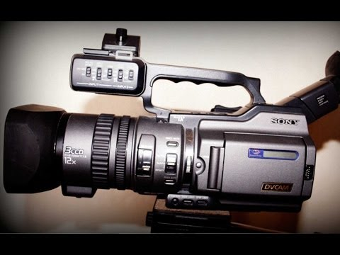 Sony DSR PD150 DVCAM like PD170 - Product Demo   by Unbox Fresh best camera for weddings