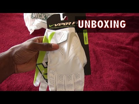 Ep. 73: Nike Vapor Fly Football Gloves Unboxing
