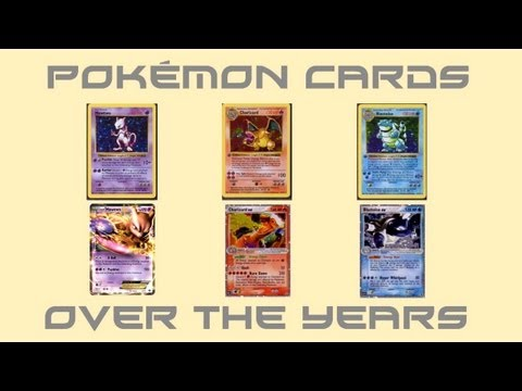 Pokémon Cards Over the Years
