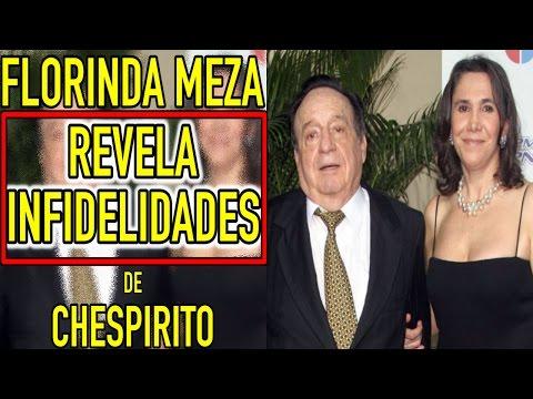 Florinda Meza REVELA INFIDELIDADES de CHESPIRITO, lo encontró con otra