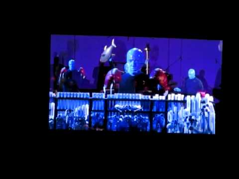 Movie Scores Mash-up - Blue Man Group - Hollywood Bowl - Sept. 7 2013 video