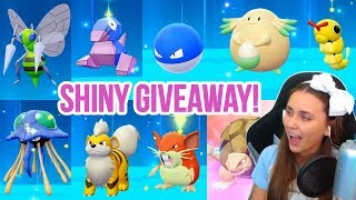 HUGE SHINY GIVEAWAY HIGHLIGHTS! Pokémon Let's Go | ZoeTwoDots