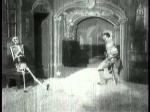 The Haunted Castle 1896 George Melies Silent Film