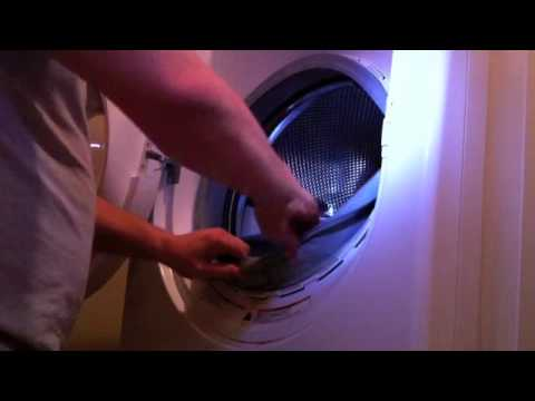 How To Replace Front Load Washer Door Boot Diy Youtube