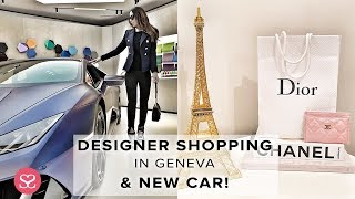 SHOPPING IN GENEVA & MY NEXT CAR...... (Geneva Motorshow 2019 VIP)