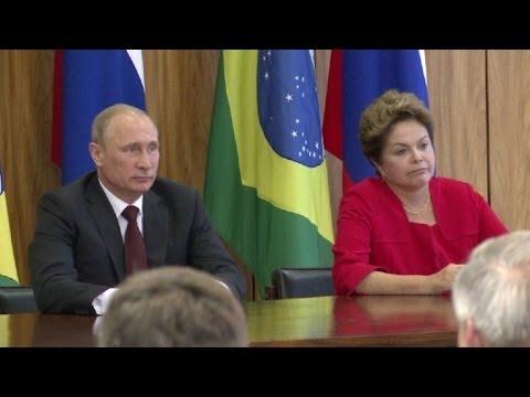 Putin e Dilma discutem mais trocas em defesa e comércio