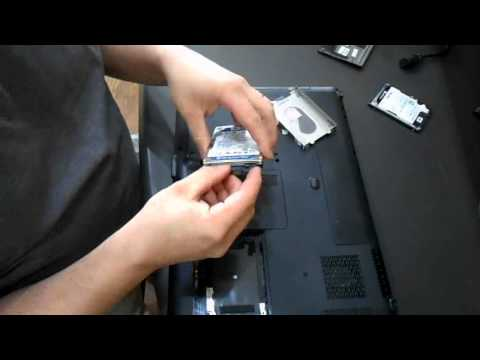Replacing The Hard Drive on HP DV9000 Laptop