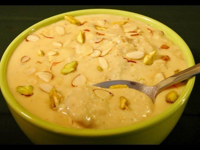 Rabdi (Instant recipe for Rakhi)