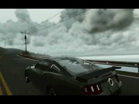 Project CARS Mustang Boss302R1 Raining Run
