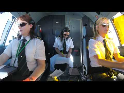 Aer Lingus Cockpit Video   Dublin to Los Angeles   Inaugural LAX Flight