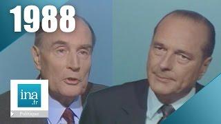 1988: débat présidentiel François Mitterrand / Jacques Chirac | Archive INA