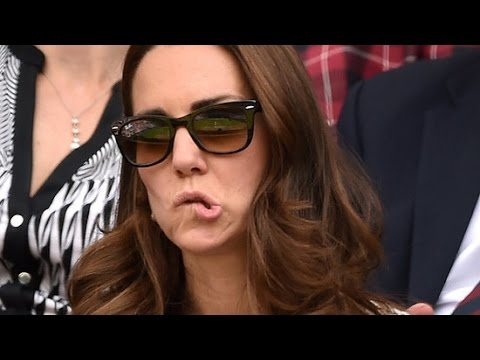 Kate Middleton's Wackiest Facial Expressions Ever!