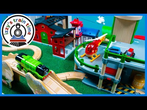 Thomas and Friends Late Night Track! Fun Toy Trains for Kids