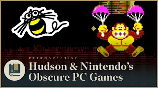 Hudson & Nintendo's Obscure Japanese PC Games   Gaming Historian