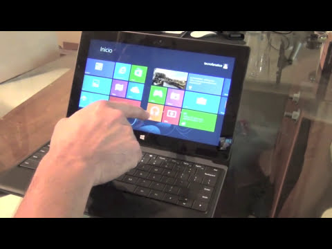 Unboxing Microsoft Surface RT primeras impresiones