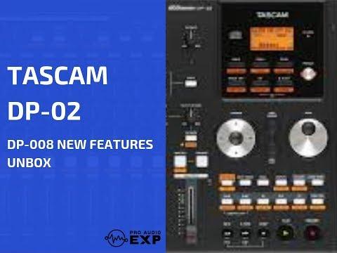 Tascam DP-02 DP-02CF Video Tutorial Demo Review Help