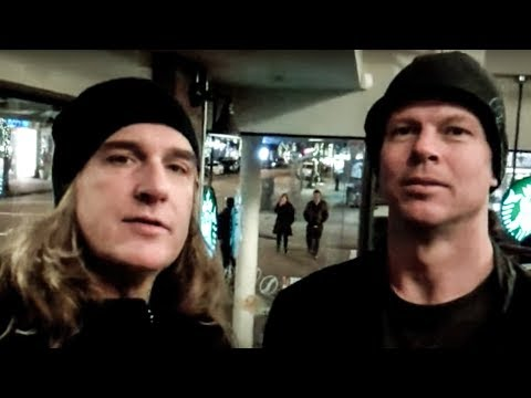 David Ellefson, Chris Broderick in Vancouver, BC - 02.19.12