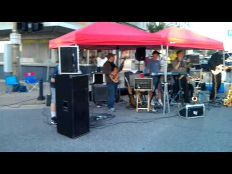 Parkovash performs at Niles, MI car show - August 2013