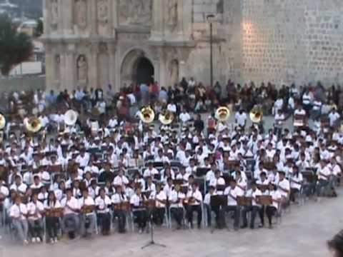 VIDEO COMPLETO DEL CONCIERTO DE BANDAS DE MUSICA DE LOS PUEBLOS INDIGENAS DEL ESTADO DE OAXACA