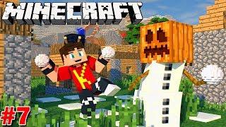 Minecraft Sinh Tồn #7   XÁCH ĐÍT ĐI TÌM NGÔI LÀNG VÀ TẠO RA SNOW GOLEM   KiA Phạm (w/ Vamy Trần)