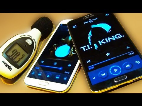 Samsung Galaxy Note 3 v Galaxy Note 2 Speaker Test!