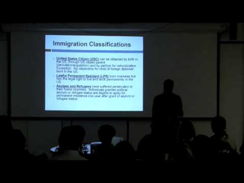 Visa Application and Legal Issues for Immigrant Artists  clip3