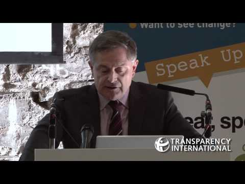 launch event for Transparency International Ireland's Speak Up Helpline on Thursday 26th May 2011