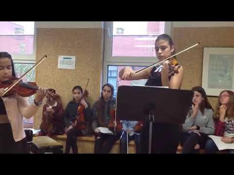 Mi audición de violín ?