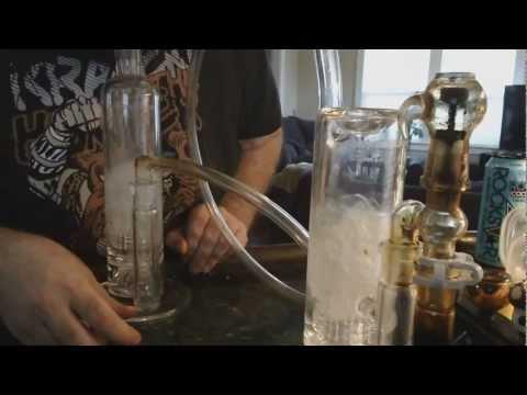 Double Mobius Glassworks Stereo Matrix Bubbler BHO hit.
