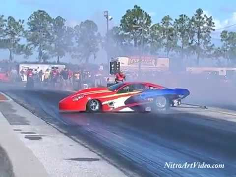 Best of 2012 Wild Rides P2 Wheel Stands Crashes Outlaw Heads Up Racing