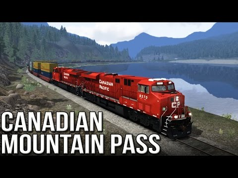 TS2015 - Canadian Mountain Passes (ES44AC Canadian Pacific)