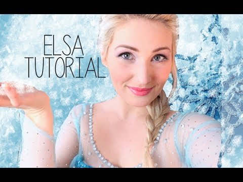 Queen Elsa Makeup Tutorial And