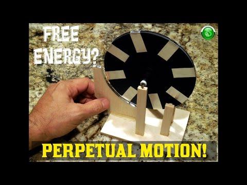 "Perpetual Motion Machine ~ ""FREE ENERGY"" Test"