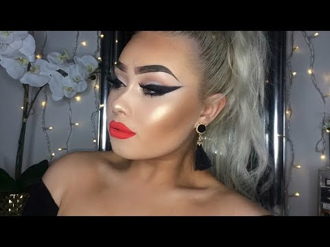 GOING TO YOUR EX's FUNERAL   Makeup Tutorial
