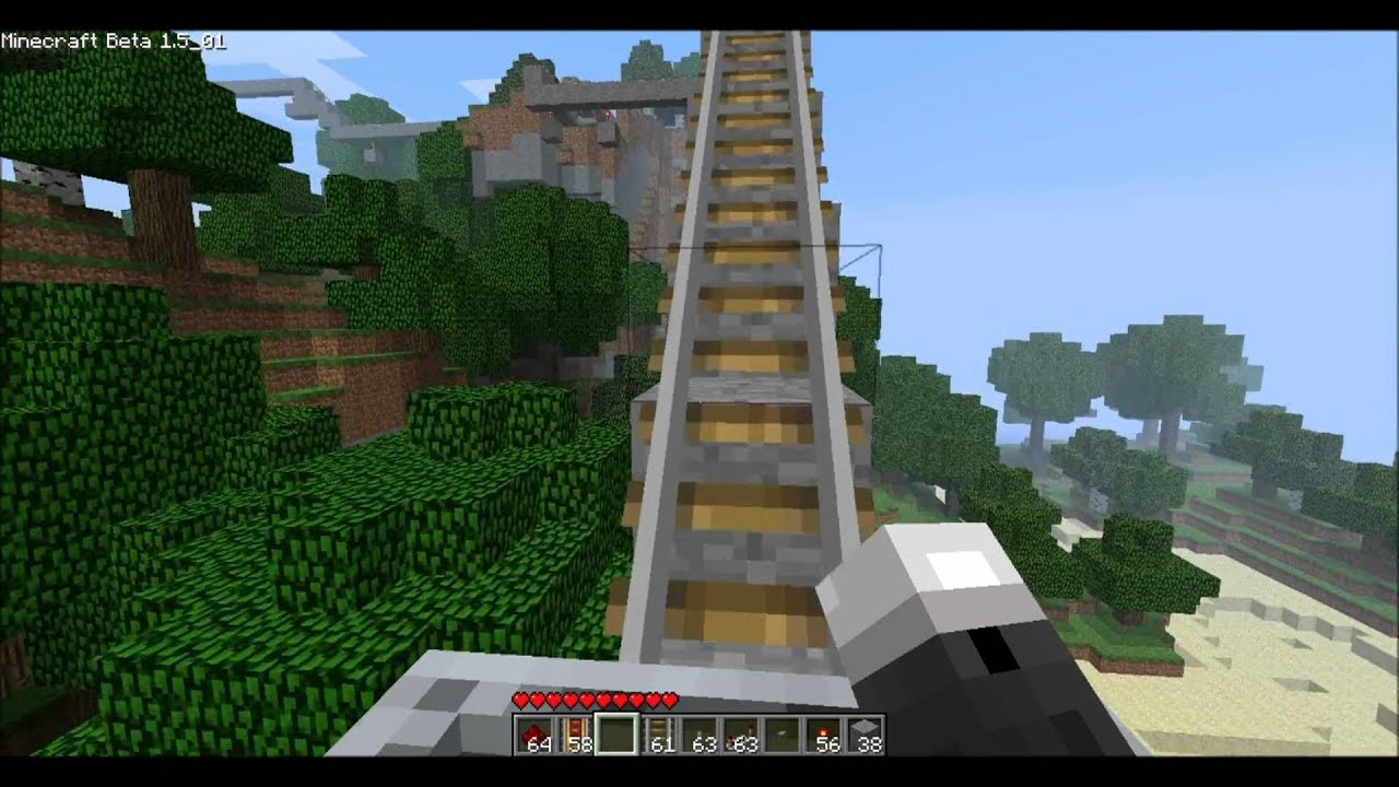 how to make powered rails turn in minecraft