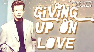Watch Rick Astley Giving Up On Love video
