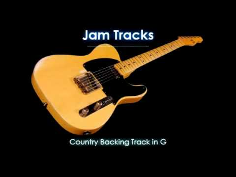 Country Backing Track In G video