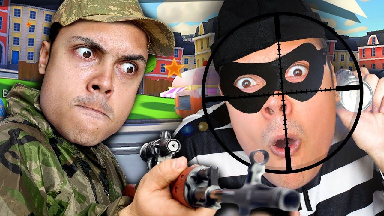 SNIPERS VS THIEVES (WHO WILL WIN !?!)
