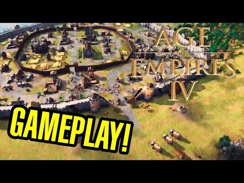 AGE OF EMPIRES IV - Gameplay y PRIMERAS IMPRESIONES !