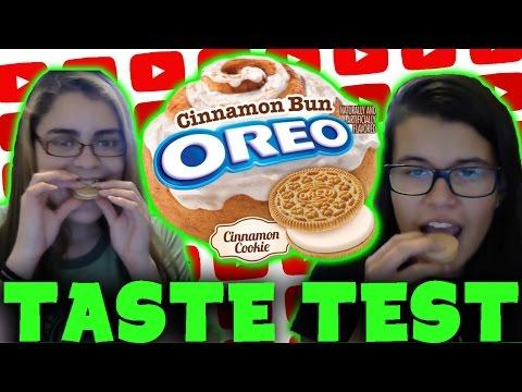 Cinnamon Bun Oreo Taste Test! (Review/First Impressions)