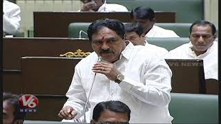 Errabelli Dayakar Speech About Speaker Pocharam | Telangana Assembly 2019