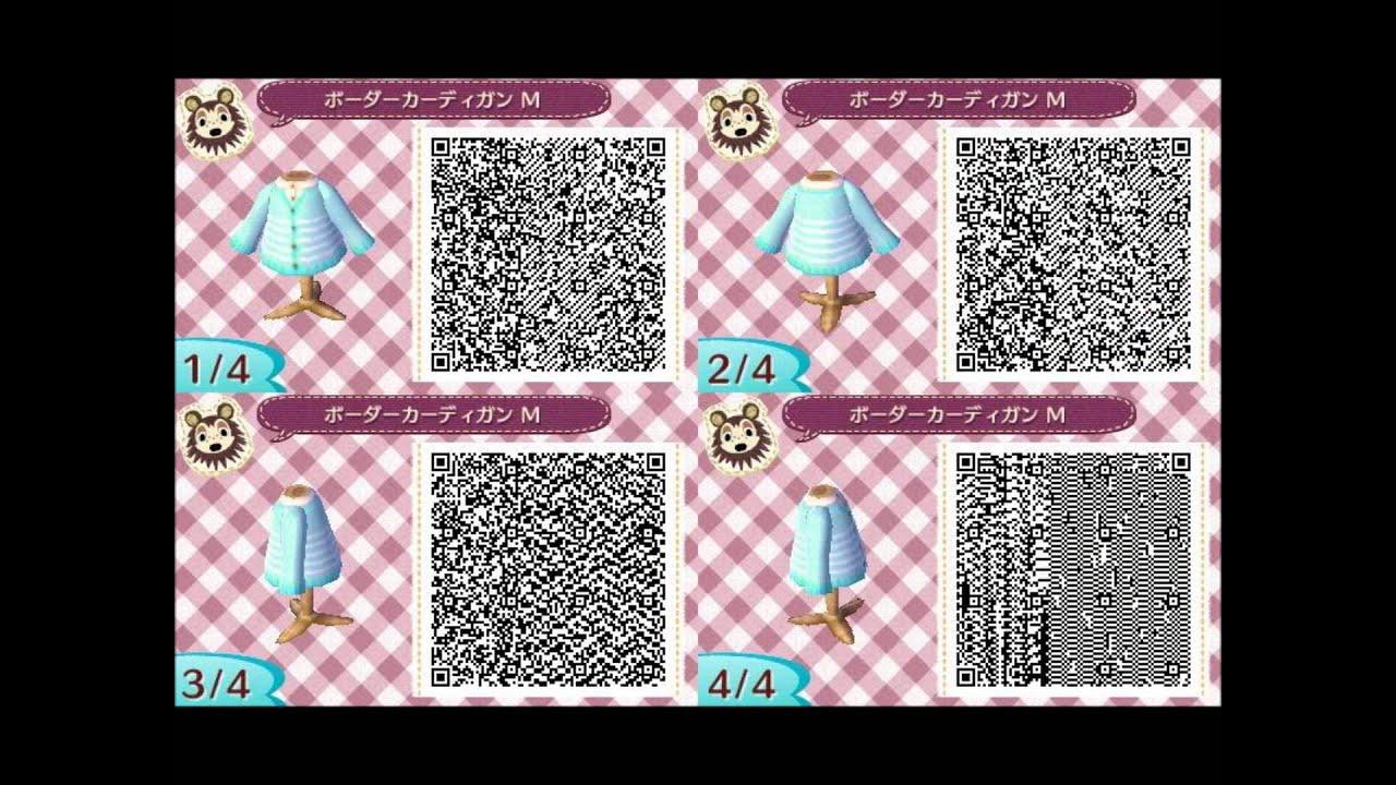 Qr Codes Animal Crossing New Leaf Paths ACNL QR Codes P...
