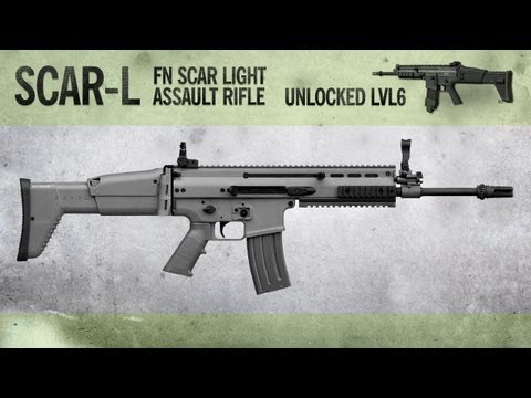 SCAR-L : MW3 Weapon Guide. Gameplay & Gun Review